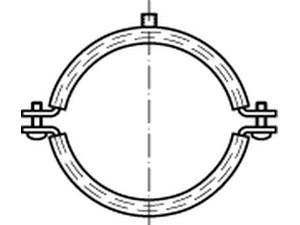 """Schraubrohrschellen 1//2/"""" 10 St 20-23 für DIN 4109"""
